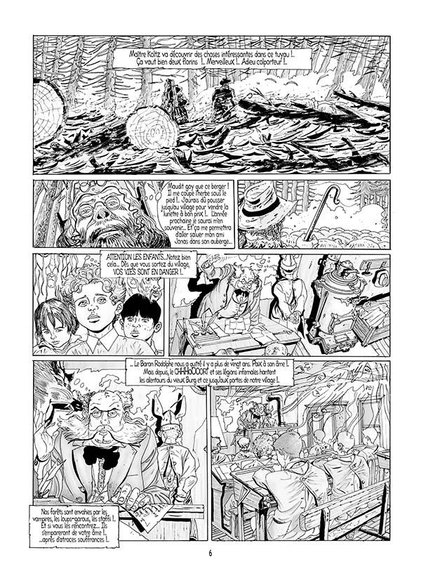 Le château des Carpathes, – éditions roymodus