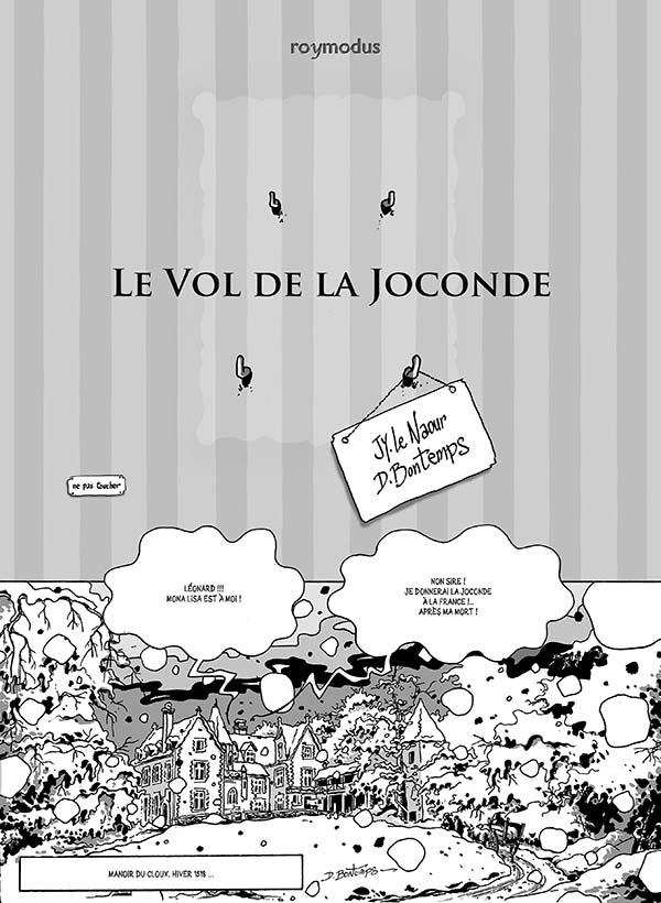 Le vol de la Joconde - éditions roymodus
